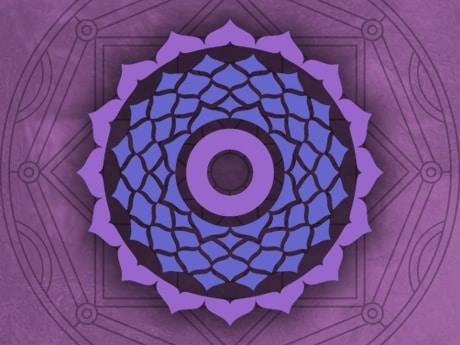 Activando el séptimo chakra con mandalas