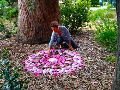Mandalas con flores de Kathy Klein