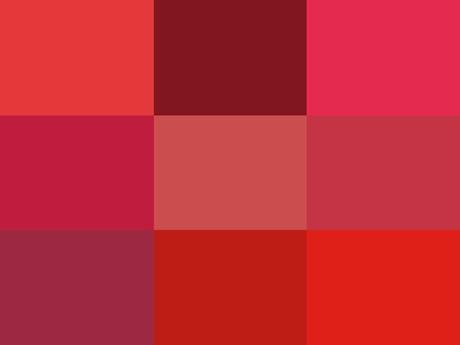 El significado de los colores: Rojo